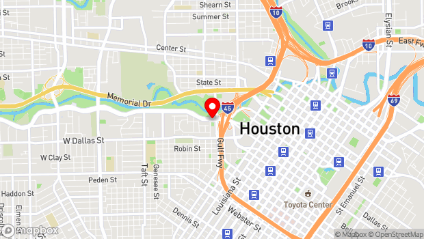 Google Map of 500 Allen Parkway, Houston, TX 77002
