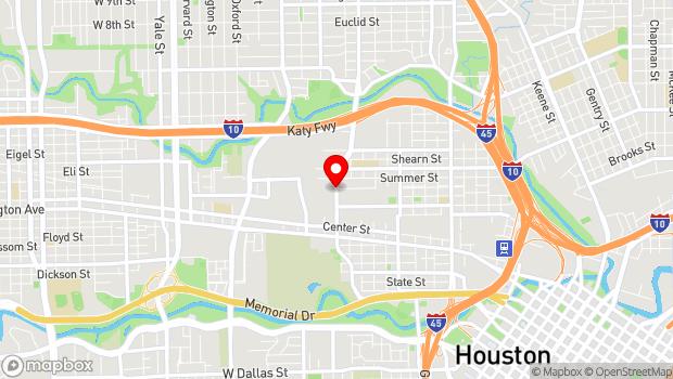 Google Map of 1520 Sawyer St., Houston, TX 77007