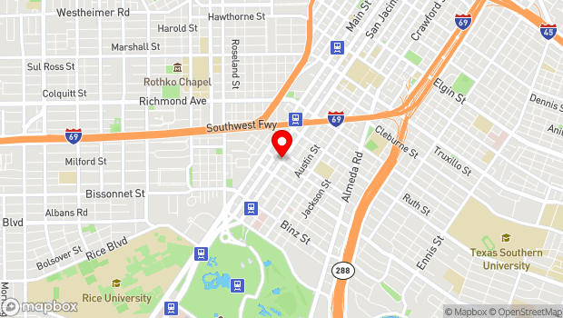 Google Map of 4920 San Jacinto, Houston, TX 77004