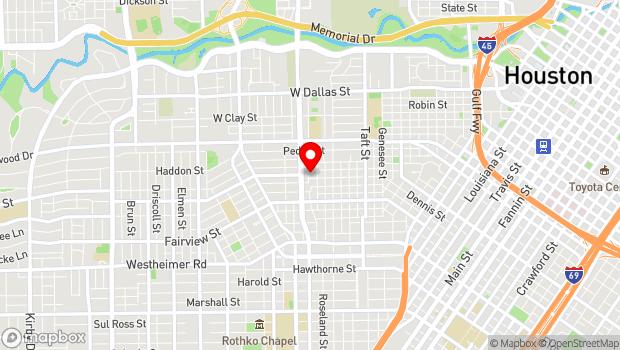 Google Map of 2007 Grant, Houston, TX 77006