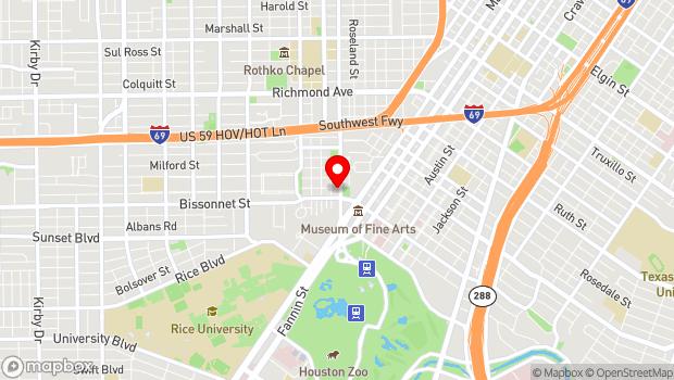 Google Map of 5200 Montrose, Houston, TX 77006