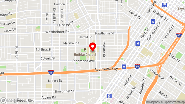 Google Map of 4001 Mt. Vernon, Houston, TX 77006