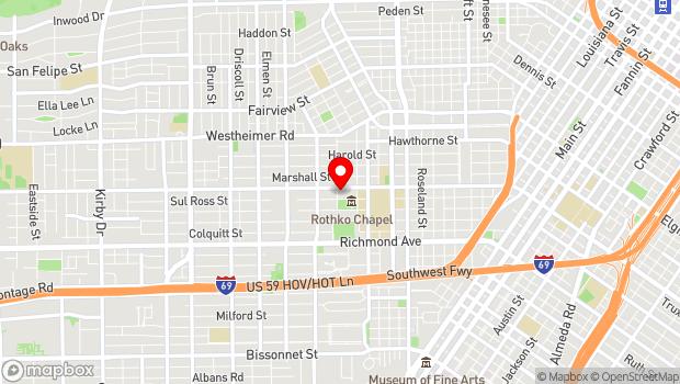 Google Map of 1441 West Alabama, Houston, Tx 77006