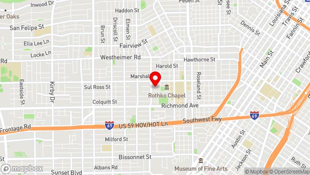 Google Map of 1515 Sul Ross, Houston, TX 77006