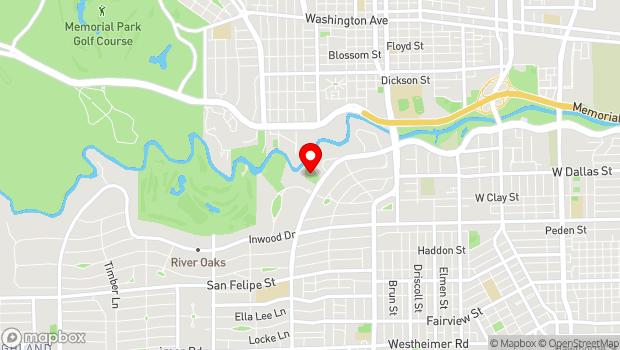 Google Map of 1406 Kirby Drive, Houston, TX 77019