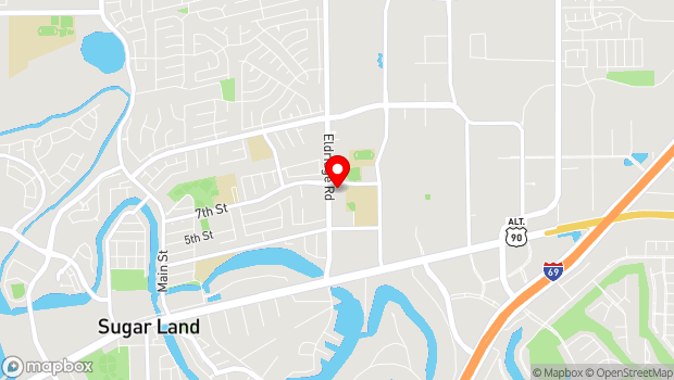 Google Map of 550 Eldridge, Sugar Land, TX 77478