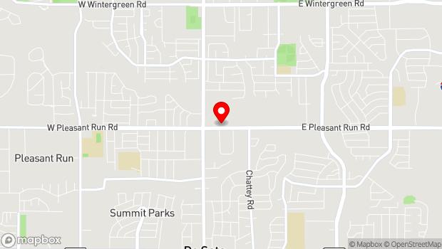 Google Map of 211 E. Pleasant Run Road, DeSoto, TX 75115