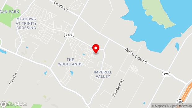 Google Map of 9301 Hog Eye Road, Austin, TX 78724
