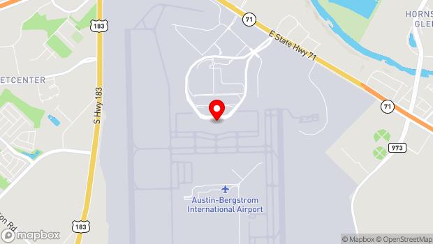 Google Map of 3600 Presidential Blvd., Austin, TX 78719