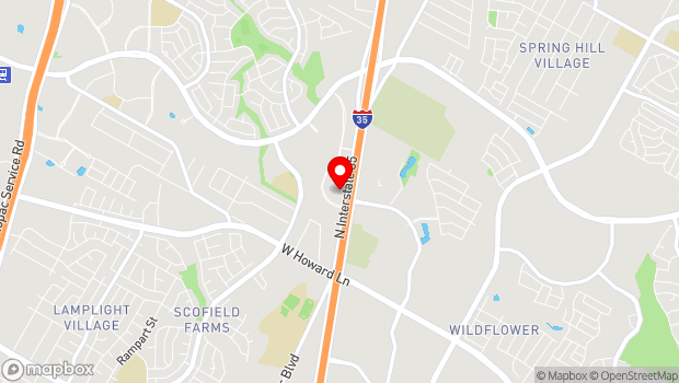 Google Map of 14106 N Interstate 35, Austin, Texas 78728, Austin, TX 78728