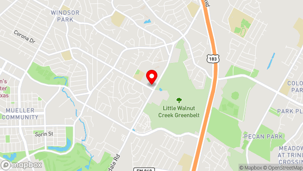 Google Map of 3506 Rogge Lane, Austin, TX 78723