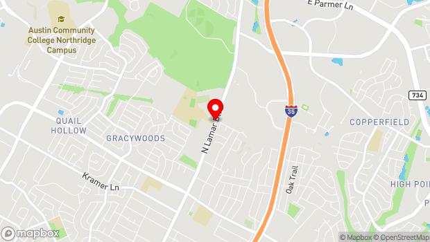 Google Map of 11908 N. Lamar, Austin, TX 78753