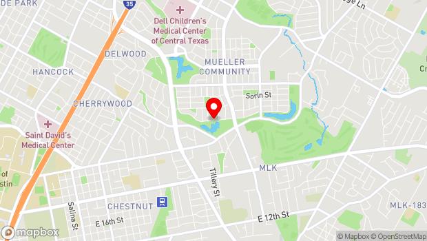 Google Map of 2501 Tom Miller St, Austin, TX 78723
