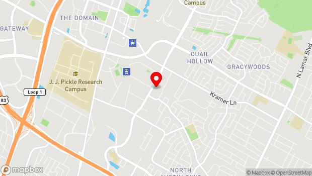 Google Map of 10615 Metric Blvd, Austin, TX 78758