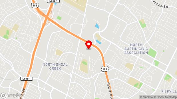 Google Map of Online, Austin, TX 73301