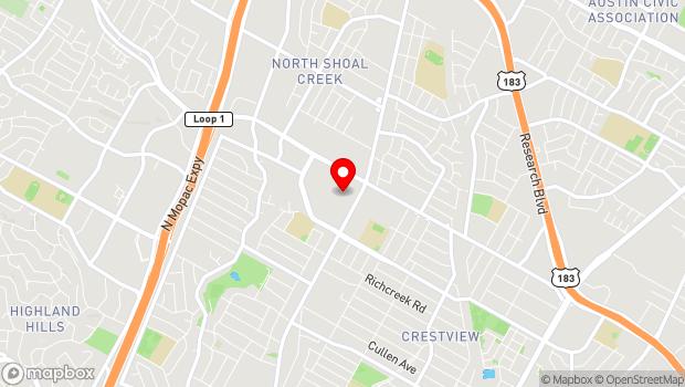 Google Map of 2525 West Anderson Ln, Ste. 530, Austin, TX 78757