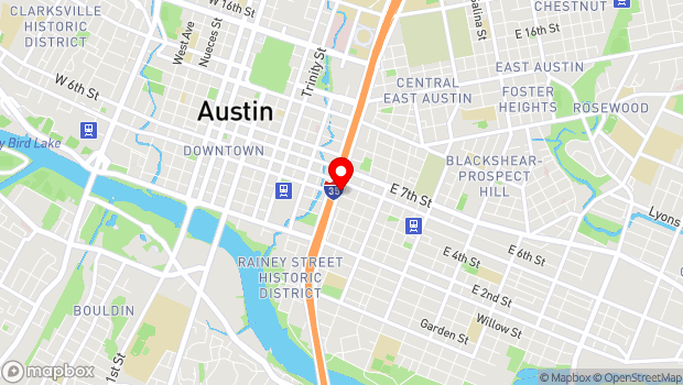 Google Map of 502 Brushy Street, Austin, TX 78702