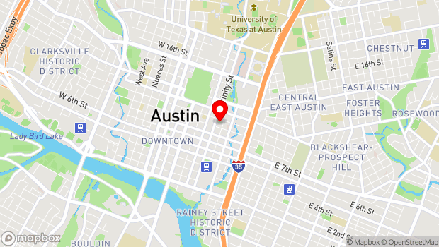 Google Map of 901 Trinity Street, 4th Floor, Austin, TX 78701