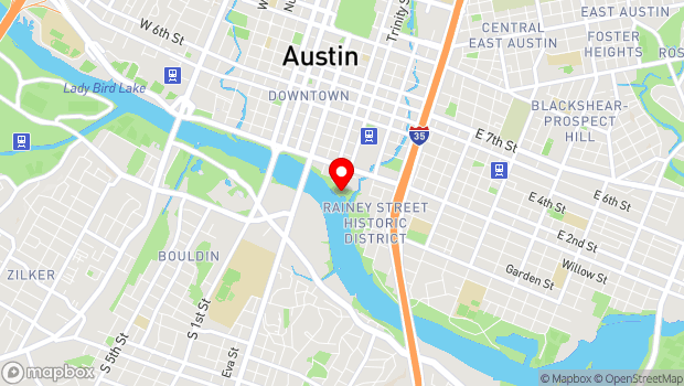 Google Map of 74 Trinity, Austin, TX 78701