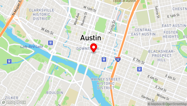 Google Map of 419 Congress Avenue, Austin, TX 78701