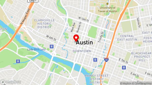Google Map of 708 San Antonio Street, Austin, TX 78701