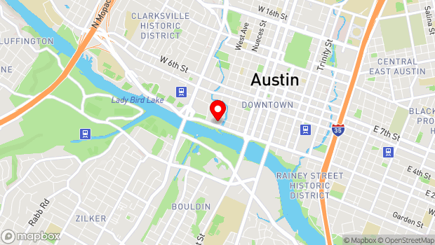 Google Map of 710 W Cesar Chavez St, Austin, TX 78701