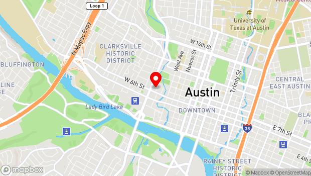 Google Map of 603 North Lamar, Austin, TX 78703