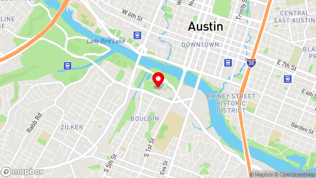 Google Map of 900 Barton Springs Road, Austin, TX 78704