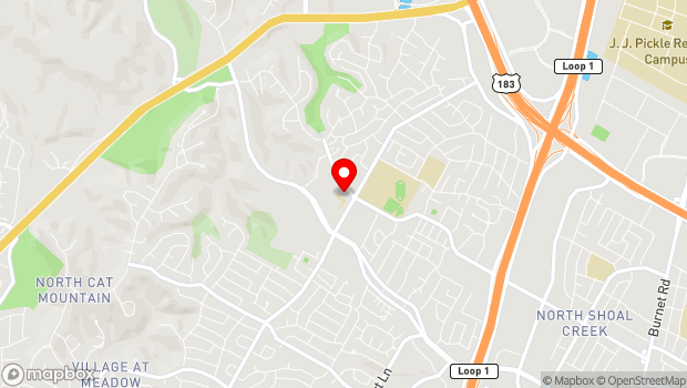 Google Map of 8134 Mesa Drive, Austin, TX 78759