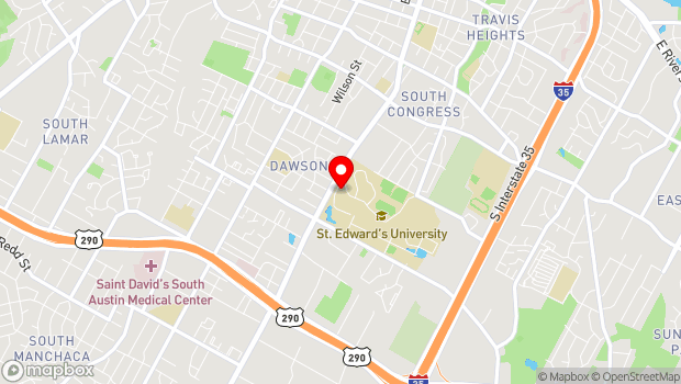 Google Map of 3001 South Congress Avenue, Austin, TX 78704