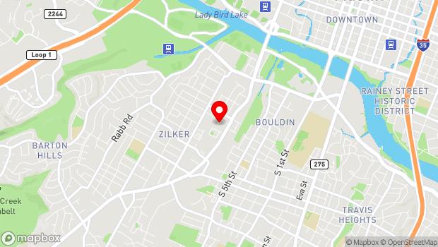 Google Map of 1120 South Lamar, Austin, TX 78704