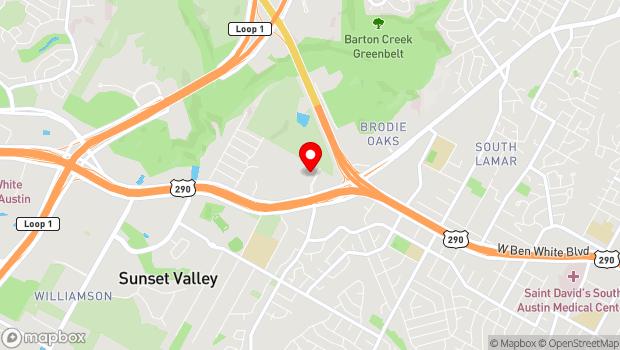 Google Map of 4544 S Lamar Blvd #300, Austin, TX 78745