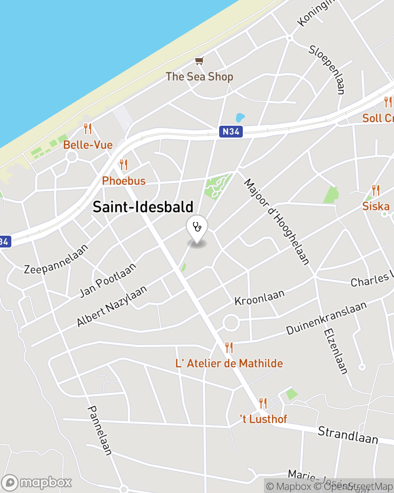 Map for doctor Charlotte Mouton