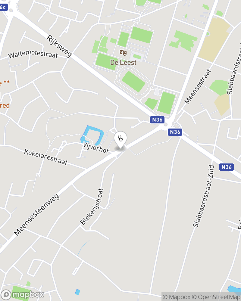 Map for doctor Tine Mullie