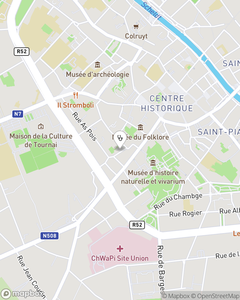 Map for doctor Fabienne Nsanze