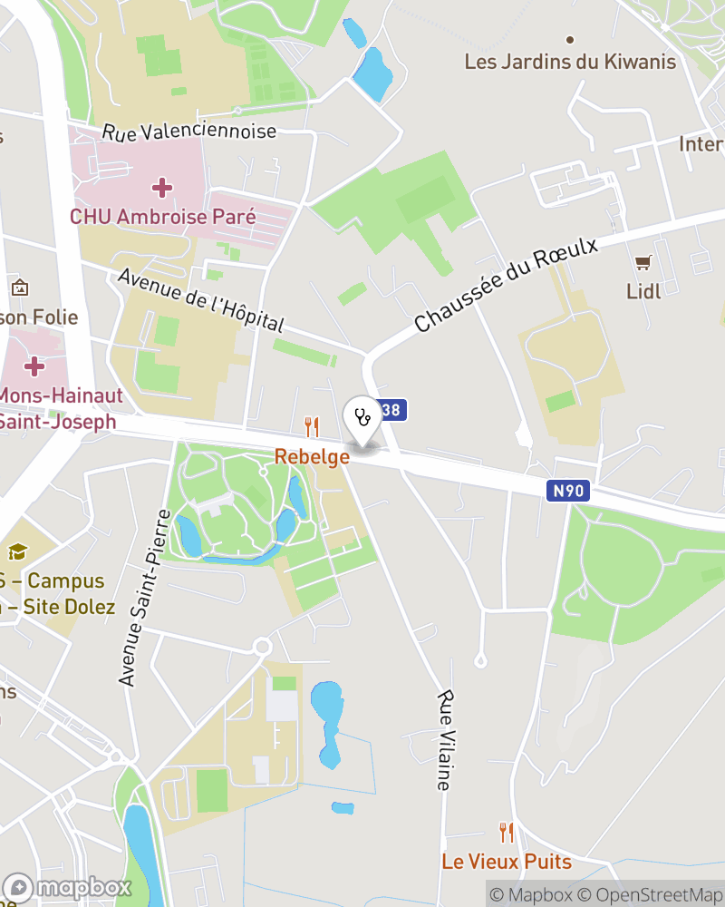 Map for doctor Duc Nguyen Huy
