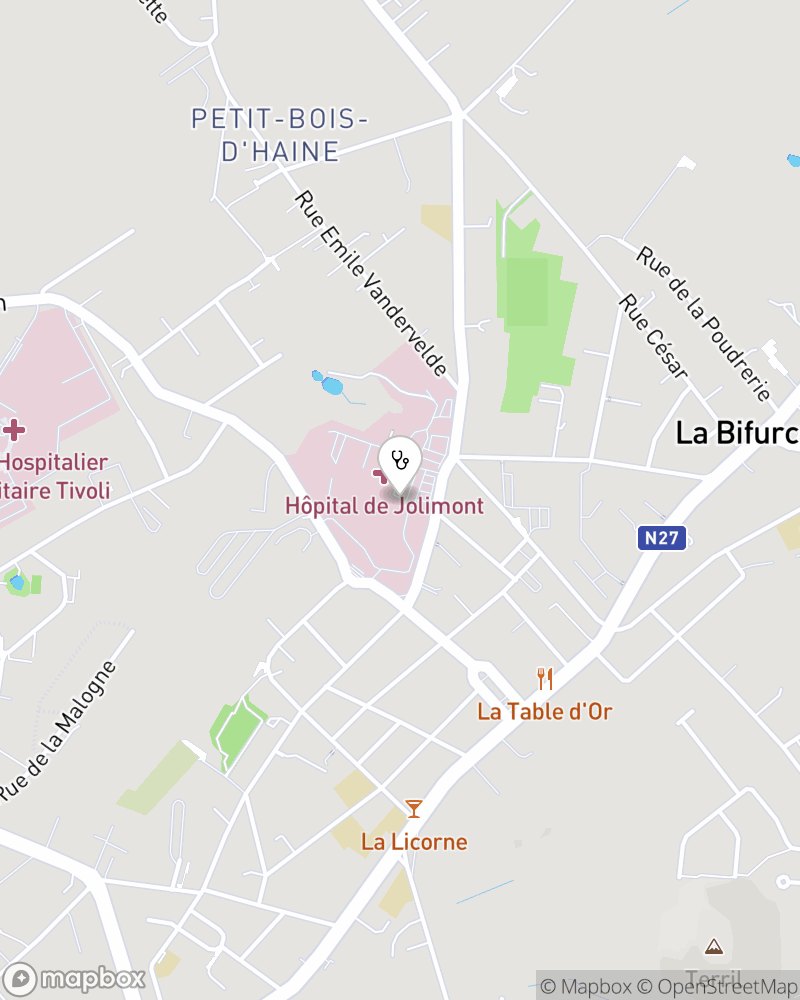 Map for doctor Michel Moulart
