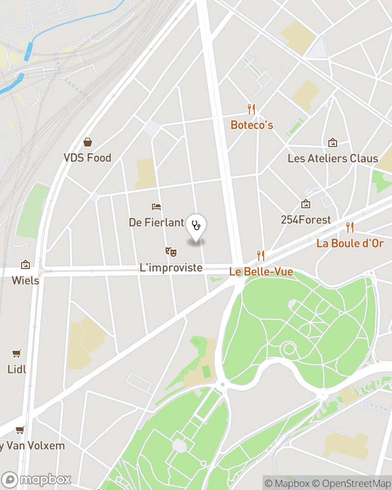 Map for doctor Michel Ory