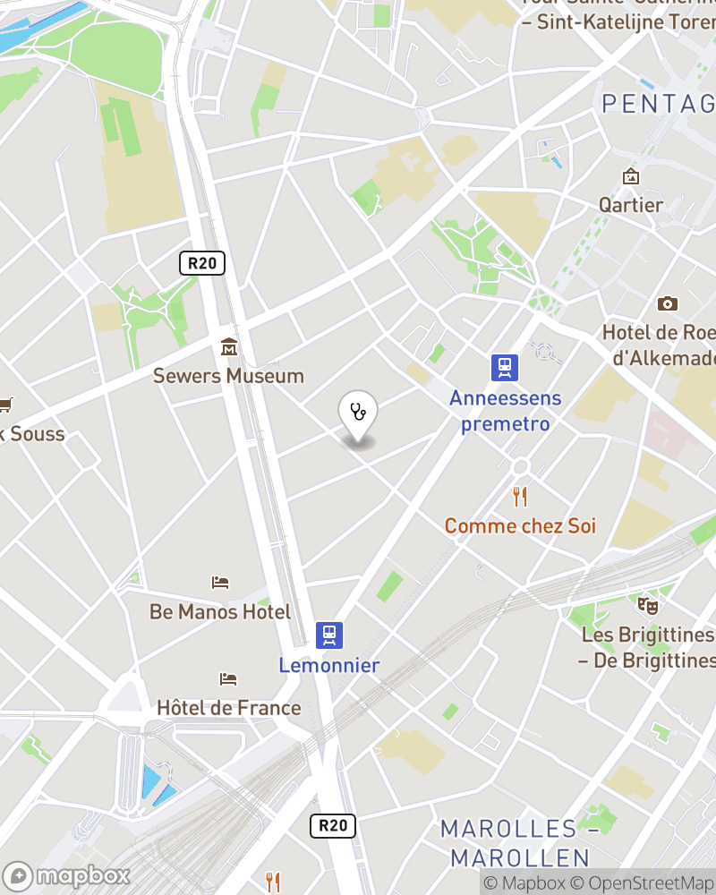Map for doctor Said Moussaoui