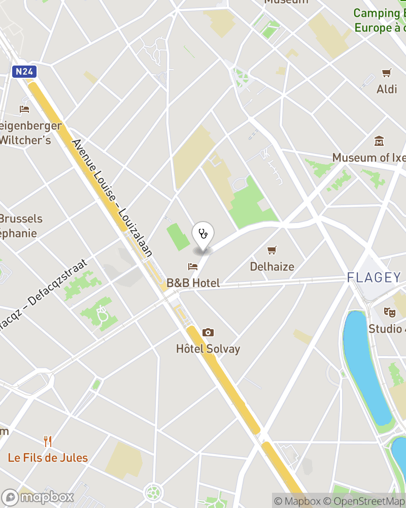 Map for doctor Amaury Namour