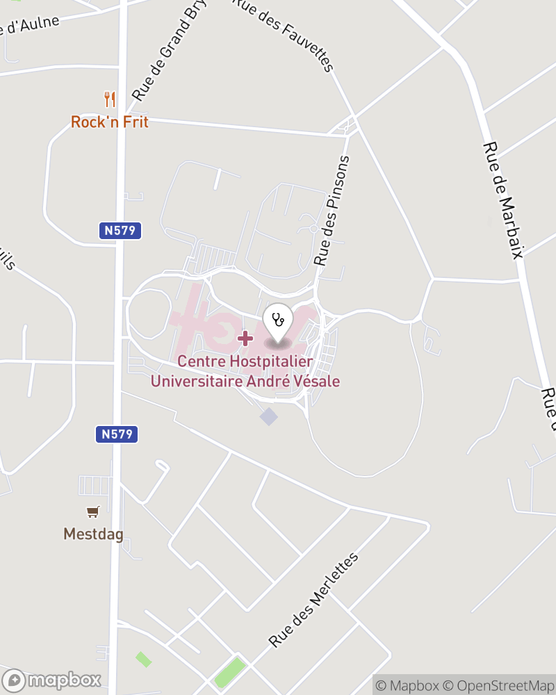 Map for doctor Patrick Ooghe