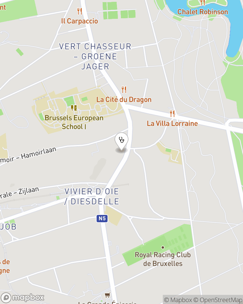 Map for doctor Michel Ouchinsky