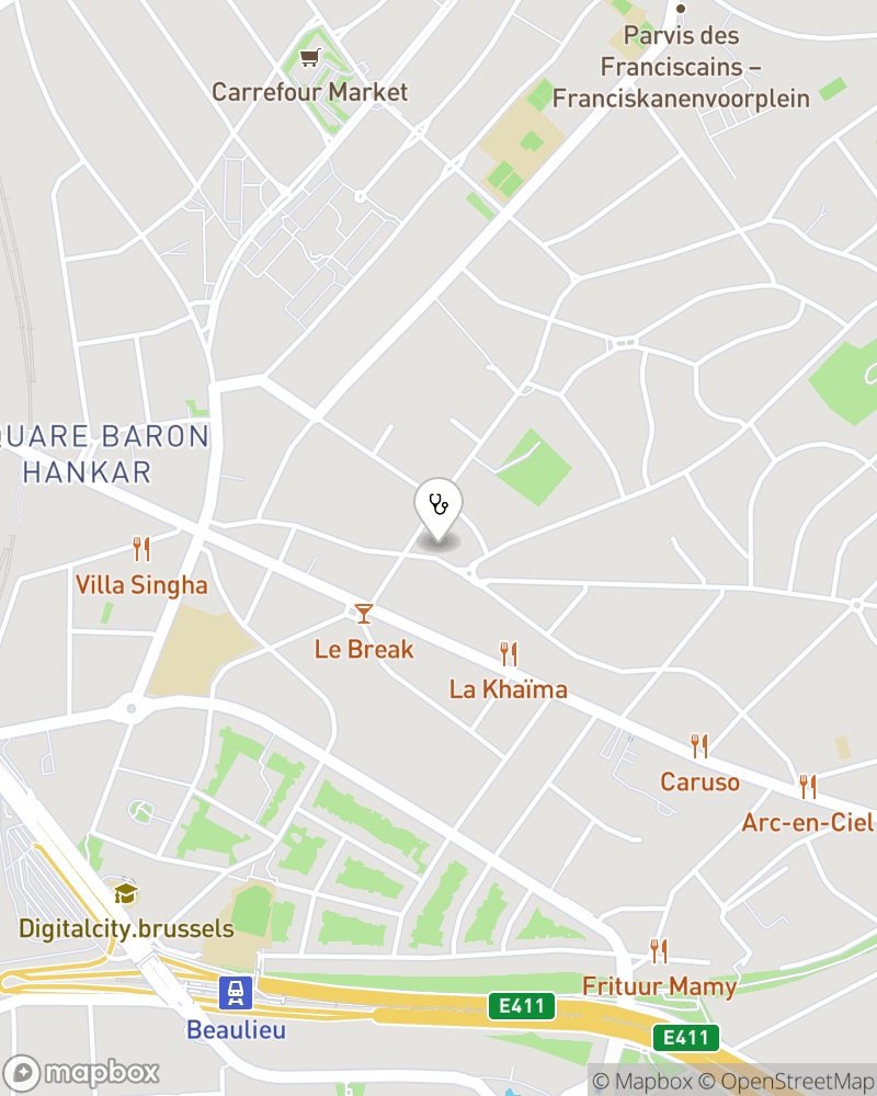 Map for doctor Bao Nguyen Quoc