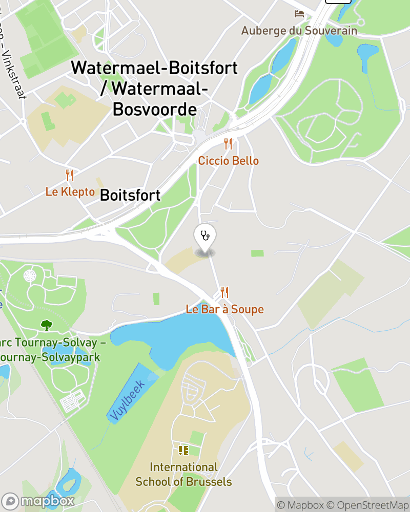 Map for doctor Marleen Moriau