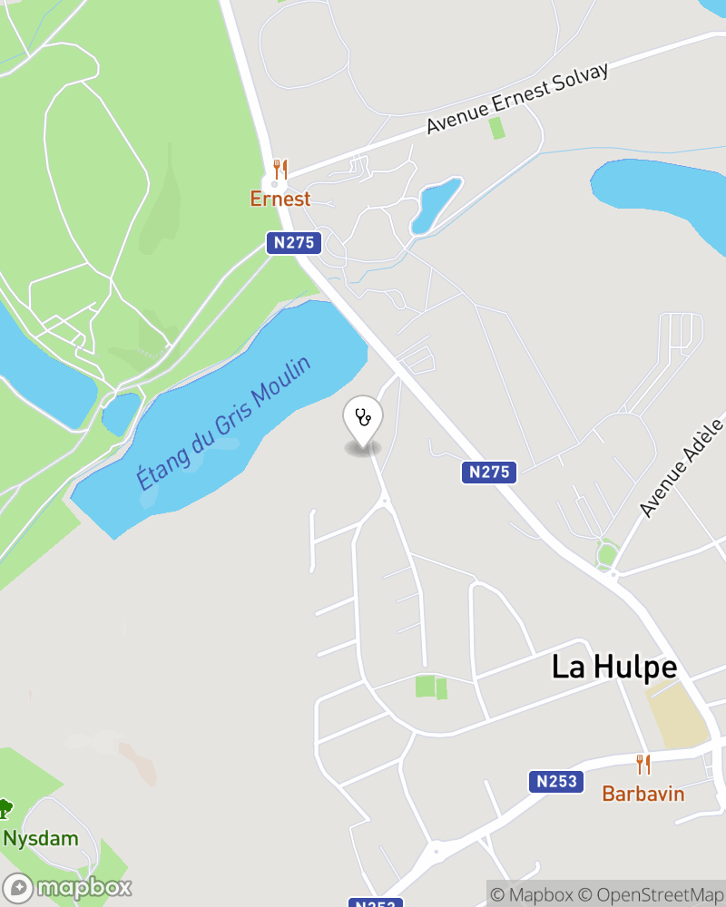 Map for doctor Lola Nys