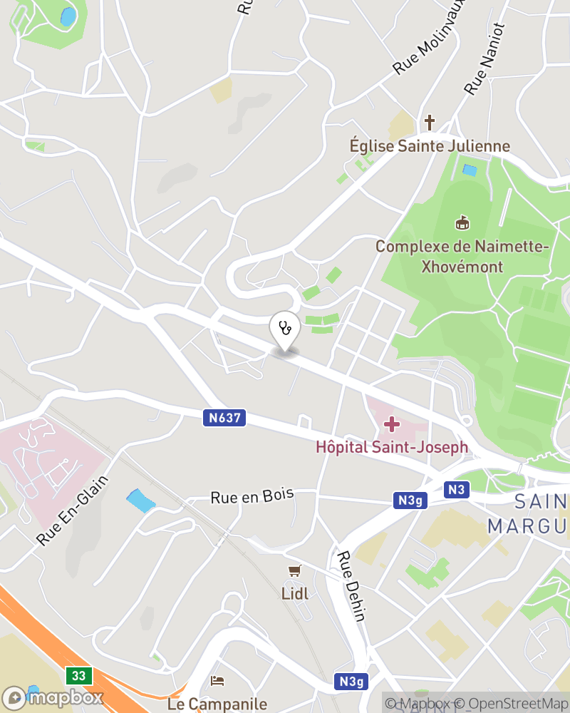 Map for doctor Sonia Ngafi Chouassom