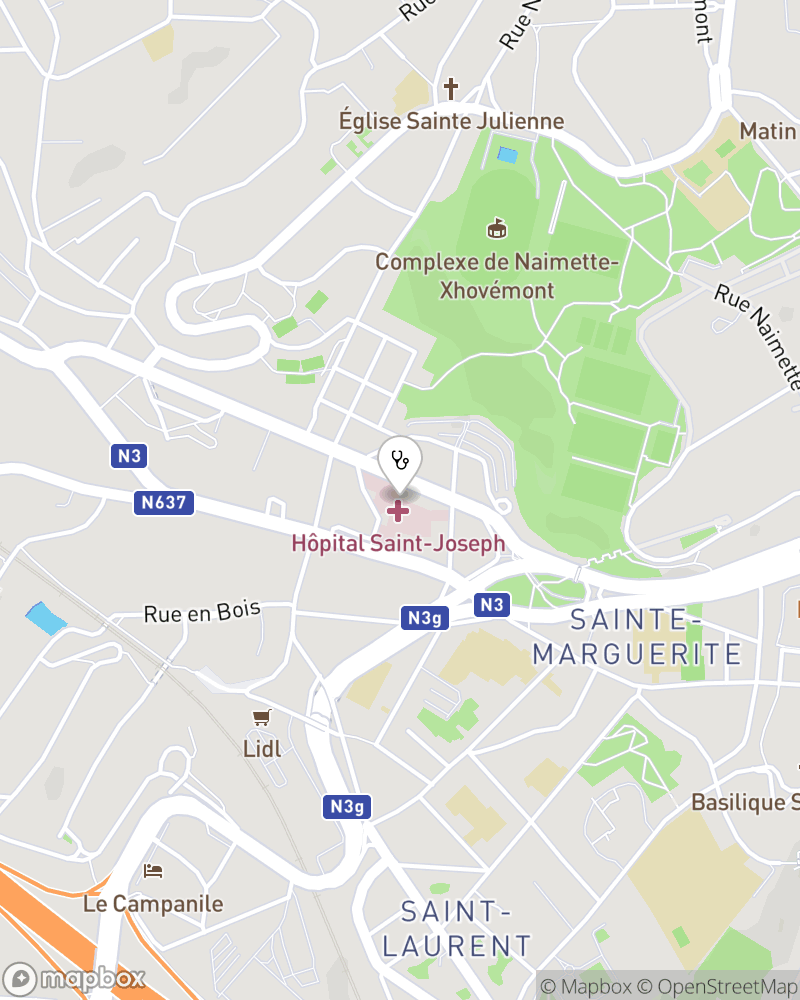 Map for doctor Didier Noirot