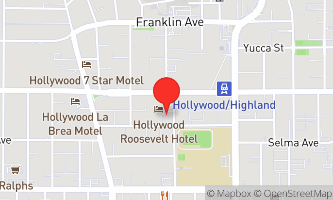 Last Minute Deals at the Hollywood Roosevelt