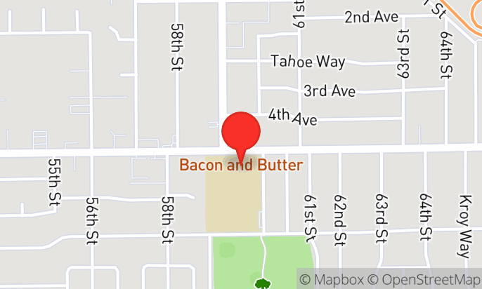 bacon & butter