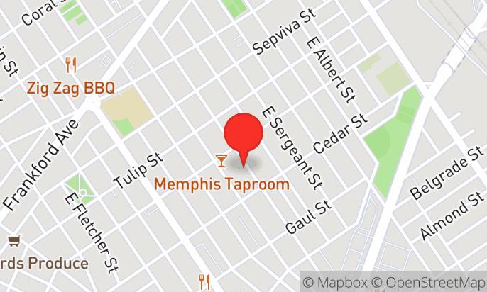 Memphis Taproom's Beer Garden